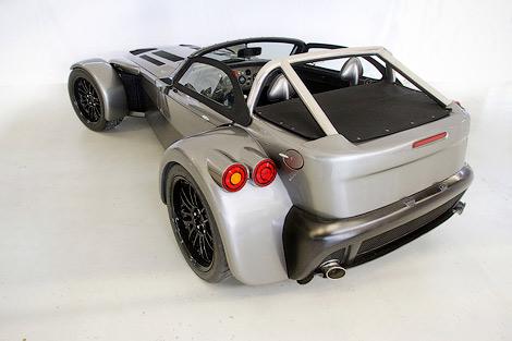 Спорткар Donkervoort D8 GT получил открытую модификацию с 400-сильным двигателем Audi. Фото 2