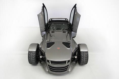 Спорткар Donkervoort D8 GT получил открытую модификацию с 400-сильным двигателем Audi. Фото 3
