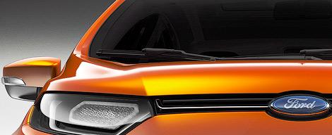 """Прототип нового """"Форда"""" представят в январе на моторшоу в Индии"""