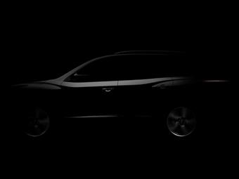 Опубликован первый тизер нового Nissan Pathfinder
