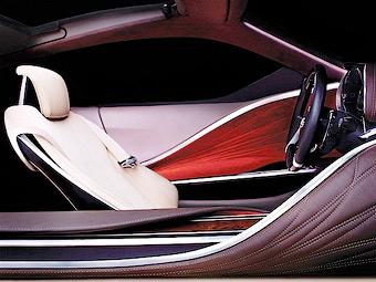 Lexus показал дизайн интерьеров будущих моделей