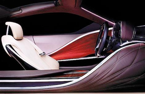 На моторшоу в Детройте дебютирует новый концепт-кар Lexus