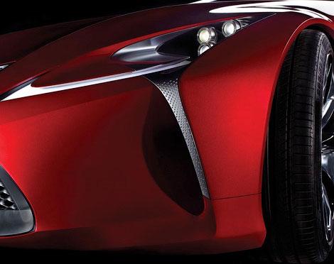 На моторшоу в Детройте дебютирует новый концепт-кар Lexus. Фото 1