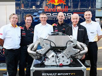 """Renault подготовит первые """"формульные"""" моторы V6 к следующему сезону"""