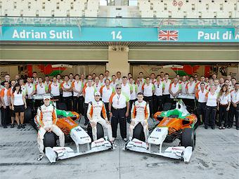 Команду Формулы-1 Force India ждет расширение