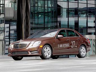 Mercedes-Benz привезет в Детройт два гибридных E-Class