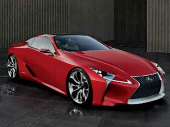 Американский журнал случайно рассекретил новый концепт Lexus