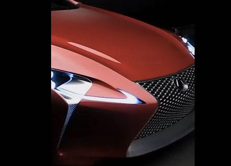 Издание Road & Track показало гибридное купе Lexus в анонсе нового выпуска