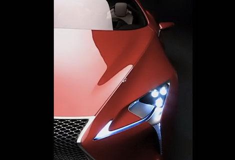 Издание Road & Track показало гибридное купе Lexus в анонсе нового выпуска. Фото 1