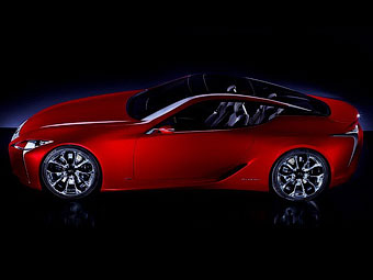 Lexus официально показал концептуальное гибридное купе