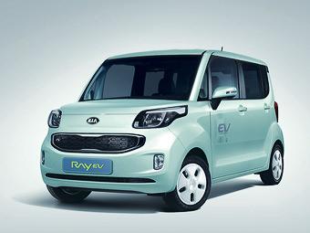 Kia представила первый в Корее серийный электрокар