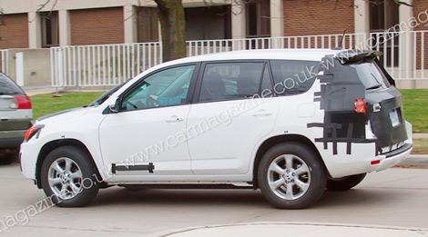 В 2012 году на рынке появится Toyota RAV4 с электромотором. Фото 1