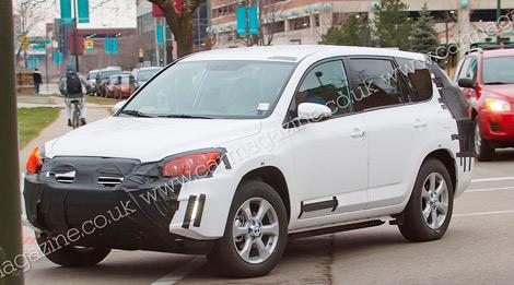 В 2012 году на рынке появится Toyota RAV4 с электромотором. Фото 2
