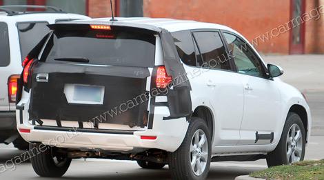 В 2012 году на рынке появится Toyota RAV4 с электромотором. Фото 3
