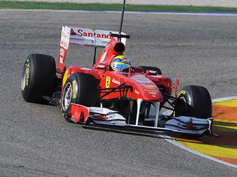 Команда Формулы-1 Ferrari покажет новый болид 3 февраля