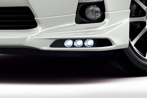 У гибридного хэтчбека Toyota Prius C появился спорт-пакет. Фото 1