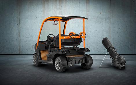Тюнер построил карбоновый автомобиль для игры в гольф