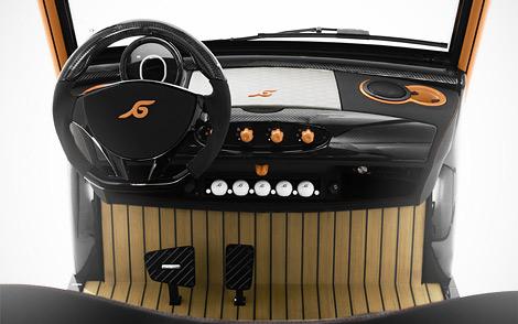 Тюнер построил карбоновый автомобиль для игры в гольф. Фото 3