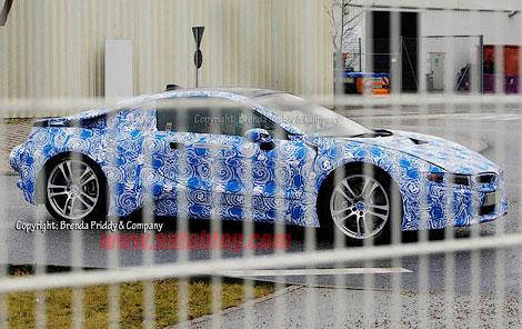 В интернете появились шпионские фотографии ходового прототипа новой модели BMW. Фото 1