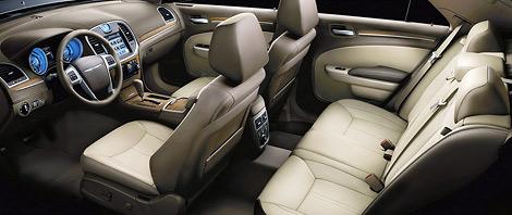 Американский производитель представил топовую модификацию седана 300. Фото 4