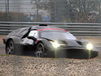 В Фиорано засняли новый суперкар Ferrari