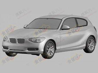 Появились первые изображения новой трехдверки BMW 1-Series