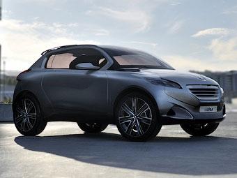Крошечный кроссовер Peugeot покажут осенью 2012 года