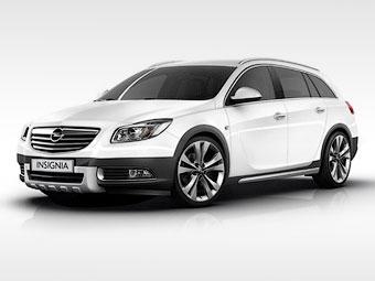 """Появились первые фотографии """"внедорожного"""" универсала Opel Insignia"""
