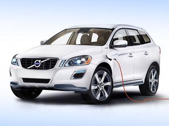 Компания Volvo сделала из кроссовера XC60 подключаемый гибрид