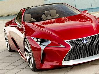 Lexus показал фотографии большого гибридного купе