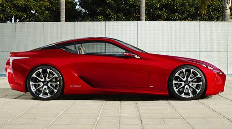 На моторшоу в Детройте состоится дебют концепта Lexus LF-LC