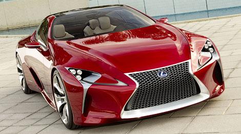 На моторшоу в Детройте состоится дебют концепта Lexus LF-LC. Фото 1