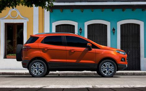 Ford представил прототип новой глобальной модели EcoSport
