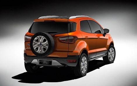 Ford представил прототип новой глобальной модели EcoSport. Фото 1