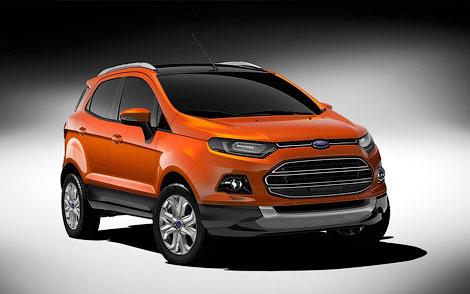 Ford представил прототип новой глобальной модели EcoSport. Фото 2