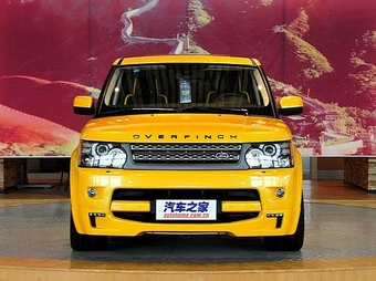 Тюнеры выкрасили Range Rover для Китая в желтый цвет