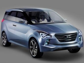 """Компания Hyundai представила """"космический"""" концепт-кар"""