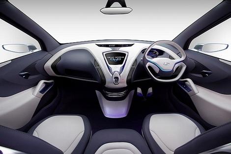На автосалоне в индийском Нью-Дели показали концептуальный компактвэн Hyundai Hexa Space Concept. Фото 2