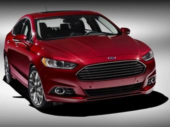 Компания Ford показала новый седан Fusion