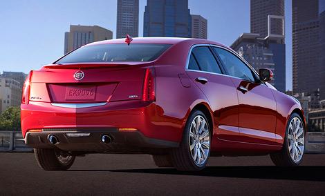 Cadillac ATS, представленный накануне Детройтского автосалона, будет оснащаться тремя двигателями на выбор