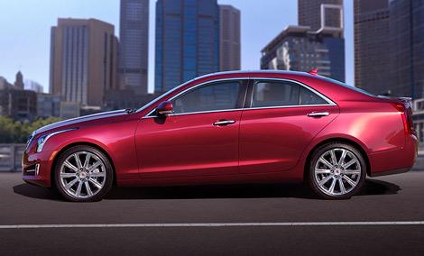 Cadillac ATS, представленный накануне Детройтского автосалона, будет оснащаться тремя двигателями на выбор. Фото 1