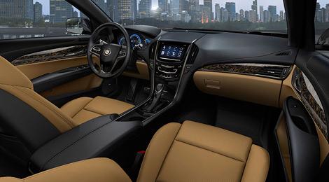 Cadillac ATS, представленный накануне Детройтского автосалона, будет оснащаться тремя двигателями на выбор. Фото 2