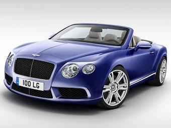 Компания Bentley показала открытый Continental с мотором V8