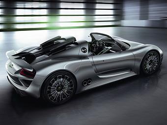 Появились новые данные о гибридном суперкаре Porsche
