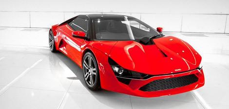 Индийский спорткар DC Design Avanti получил мотор и КПП концерна Ford. Фото 1