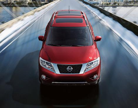 В Детройте показали Nissan Pathfinder четвертого поколения