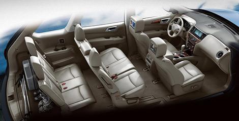 В Детройте показали Nissan Pathfinder четвертого поколения. Фото 2