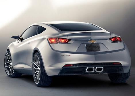 На моторшоу в Детройте дебютировали перспективные купе Chevrolet