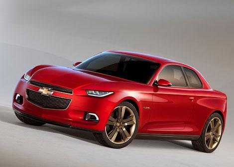 На моторшоу в Детройте дебютировали перспективные купе Chevrolet. Фото 1