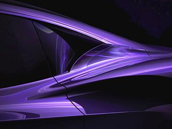 Компания Infiniti показала тизер электрического спорткара